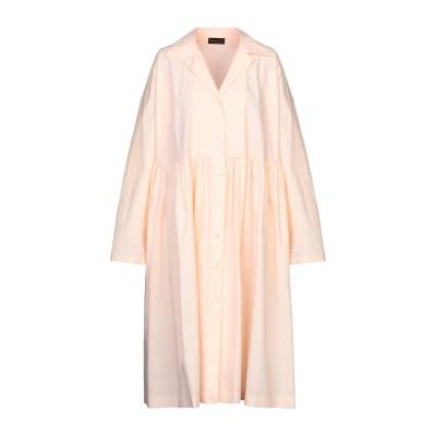 ロベルト コリーナ ROBERTO COLLINA 7分丈ワンピース・ドレス サーモンピンク one size コットン 100% 7分丈ワンピース
