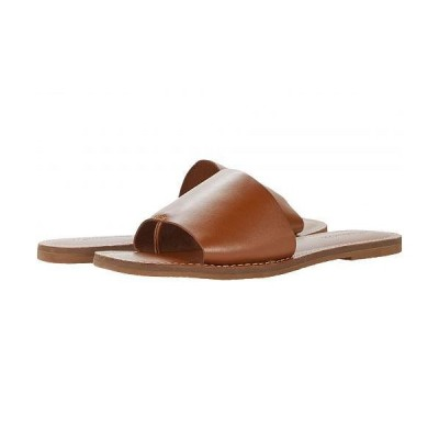 Madewell レディース 女性用 シューズ 靴 サンダル The Boardwalk Post Slide Sandal - English Saddle