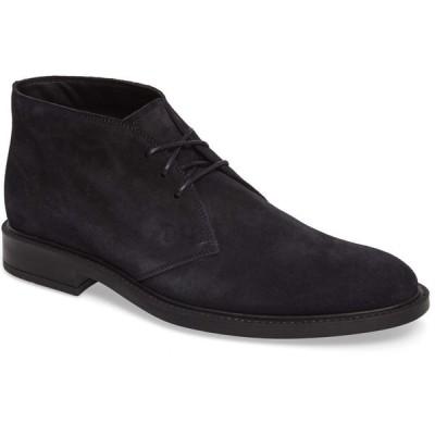 トッズ TOD'S メンズ ブーツ チャッカブーツ シューズ・靴 Polacco Chukka Boot Navy Suede