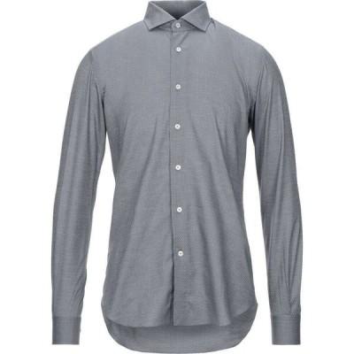 ザカス XACUS メンズ シャツ トップス Solid Color Shirt Grey
