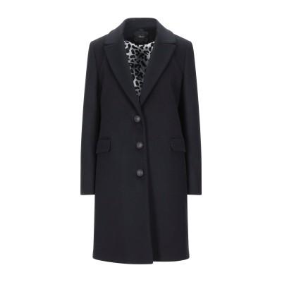 MOUCHE コート ブラック 40 バージンウール 100% コート