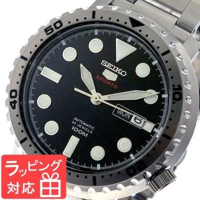 セイコー SEIKO 腕時計 メンズ SRPC61K1 SEIKO 5 SPORTS 自動巻き ブラック シルバー