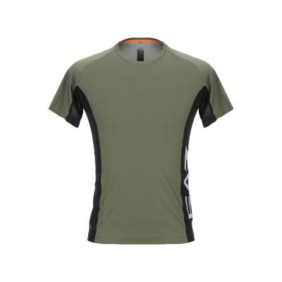 EA7 T シャツ ミリタリーグリーン S ポリエステル 100% T シャツ