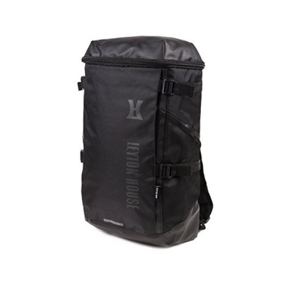LHB-100 LEYTONHOUSE SQUARE BAG/スクエアバッグ/バックパック/ボックスバッグ/リュックサック (ブラック×ブラ