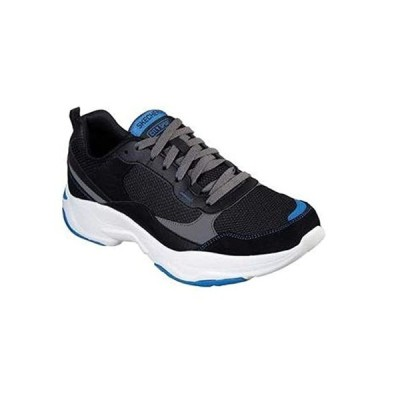 Skechers シティ スポーツ ブラック/ブルー 10.5(海外取寄せ品)