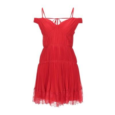 SELF-PORTRAIT ミニワンピース&ドレス レッド 4 ポリエステル 100% / ナイロン ミニワンピース&ドレス