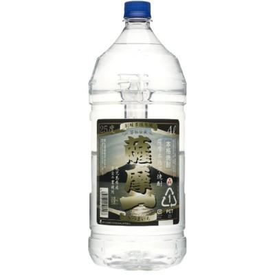 薩摩一ペット 芋焼酎 25度 4000ml 若松酒造 鹿児島県 中薩地方