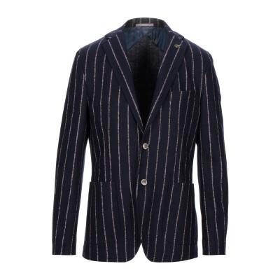 パオローニ PAOLONI テーラードジャケット ダークブルー 54 ウール 54% / 指定外繊維(紙) 46% テーラードジャケット