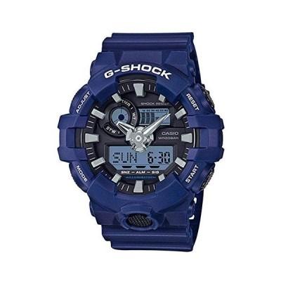 カシオ CASIO G-SHOCK アナデジコンビ アナデジ クオーツ クロノ 腕時計 GA-700-2A ネイビー[メンズ] [並行輸入品]