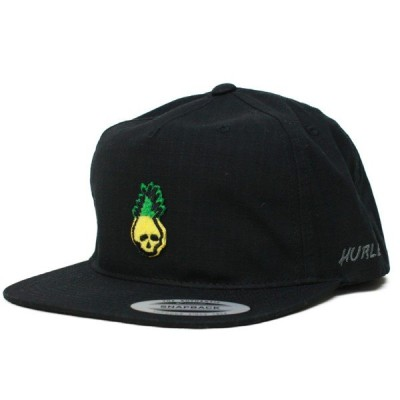 Hurley SNAP BACK CAP  PINEAPPLE  010(黒)  (AO2333) (ハーレー)  (キャップ)