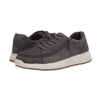 BILLY Footwear メンズ 男性用 シューズ 靴 スニーカー 運動靴 Comfort Suede Lo - Grey