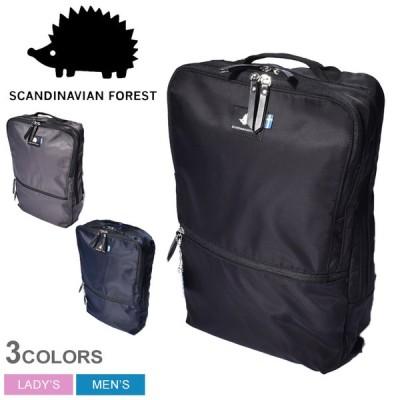スカンジナビアンフォレスト バックパック メンズ レディース スマート 10Pリュック SCANDINAVIAN FOREST 235-KEXP105 ブラック