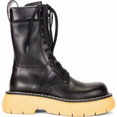 ボッテガ ヴェネタ Bottega Veneta レディース ブーツ レースアップブーツ シューズ・靴 Lace Up Boots Black/Natural