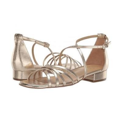 Naturalizer ナチュラライザー レディース 女性用 シューズ 靴 サンダル Haleigh - Gold