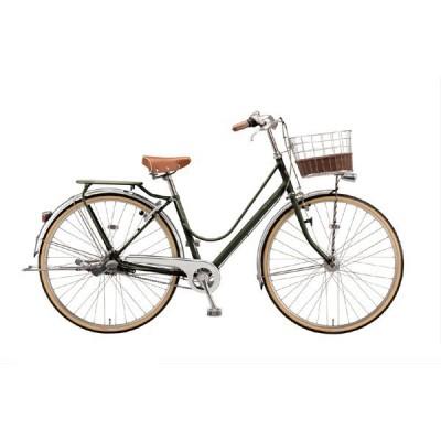 送料無料 ブリヂストン シティサイクル自転車 カジュナ DX CB7T1 E.Xダークオリーブ
