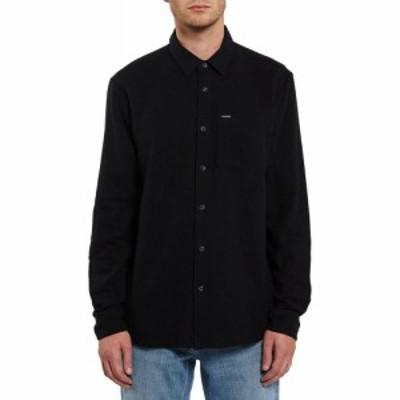 ボルコム Volcom メンズ シャツ トップス caden solid l/s shirt Black