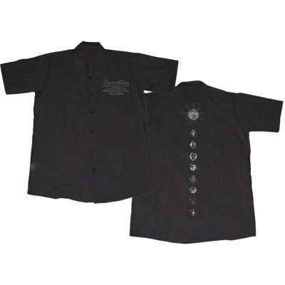 SYMPHONY X シンフォニーエックス - LOGO SYMBOL WORK SHIRT / バックプリントあり / Tシャツ / メンズ 【公式 / オフィシャル】(L)