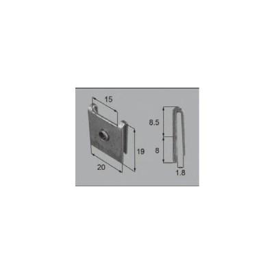 LIXIL/TOSTEM ドア引戸(引き戸)用部品 その他 玄関・店舗・勝手口・テラスドア:ハサミナットNo.2FNMZ037 リクシル トステム