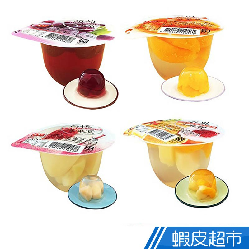 盛香珍 多果實大果凍系列 180gX6杯入  現貨 蝦皮直送