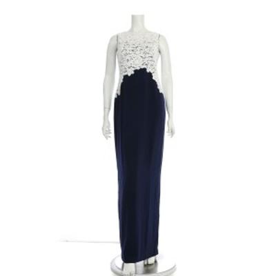 ラルフローレン RalphLauren ドレス サイズS レディース 新品同様 ネイビー系 ロングドレス【中古】20201113