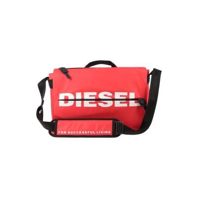 ディーゼル DIESEL ブリーフケース レッド ポリウレタン 100% / 鉄 / 亜鉛 ブリーフケース