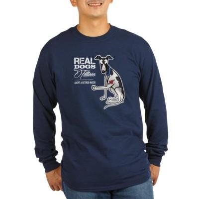 ユニセックス 衣類 トップス CafePress - Tattoos Dark Long Sleeve T-Shirt - Long Sleeve Dark T-Shirt Tシャツ