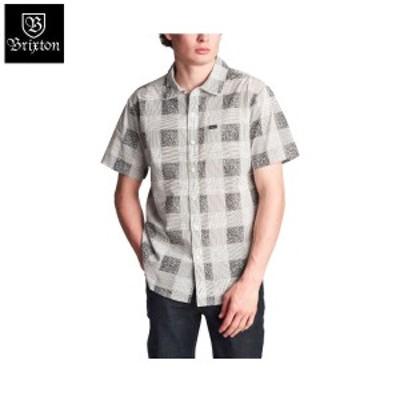 【BRIXTON】ブリクストン 2019春夏 CHARTER PLAID S/S WOVEN メンズ 半袖シャツ ボタンダウンシャツ ワイシャツ