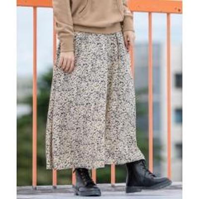 コーエンフラワープリントタックロングスカート#【お取り寄せ商品】