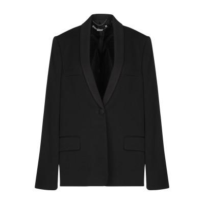 ステラ マッカートニー STELLA McCARTNEY テーラードジャケット ブラック 38 ウール 100% / コットン / レーヨン テーラ