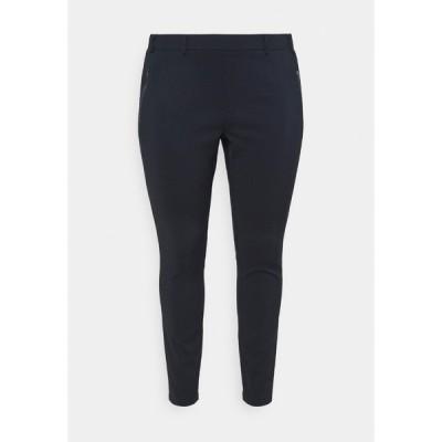 カフェ カーブ カジュアルパンツ レディース ボトムス KCVIGGA LIV PANTS - Trousers - midnight marine