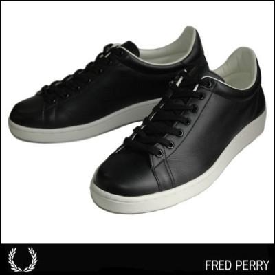 【送料無料】【FRED PERRY 】【フレッドペリー】 Breaux レザーシューズ (MADE IN JAPAN)日本製  F19682-07 BLACK