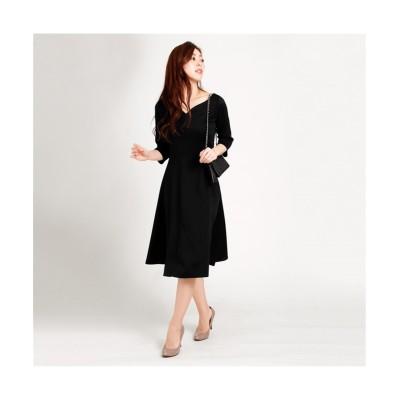 MARTHA(マーサ) カービーネックラインワンピース (ワンピース)Dress