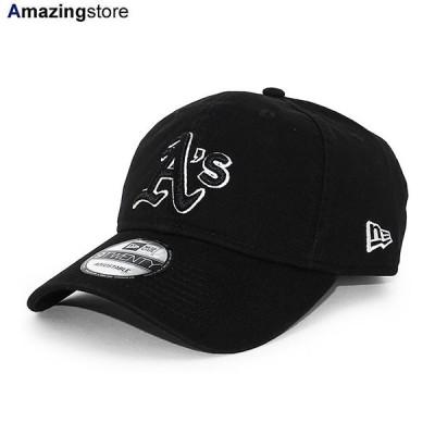 ニューエラ 9TWENTY ストラップバック キャップ オークランド アスレチックス 【MLB CORE CLASSIC STRAPBACK CAP/BLACK-BLACK】 NEW ERA OAKLAND ATHLETICS