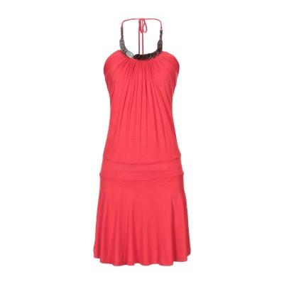 キラ KILLAH ミニワンピース&ドレス レッド M レーヨン 92% / ポリウレタン 8% ミニワンピース&ドレス