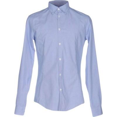 アルマーニ ジーンズ ARMANI JEANS メンズ シャツ トップス patterned shirt Blue