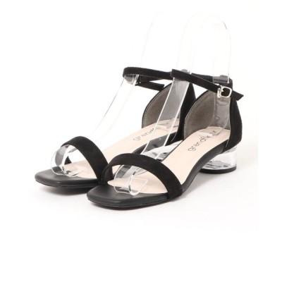 Parade ワシントン靴店 / 【スクエアトゥ】クリアヒールセパレートサンダル 9702 WOMEN シューズ > サンダル
