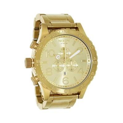 腕時計 ニクソン アメリカ A083 502 NIXON 51-30 Chrono All Gold Watch-Gold