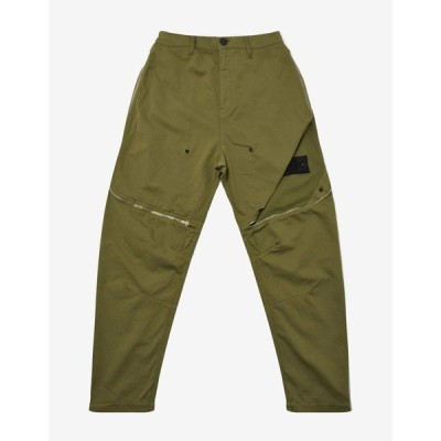 ストーンアイランド Stone Island Shadow Project メンズ ボトムス・パンツ Green Vented Panel Trousers Green