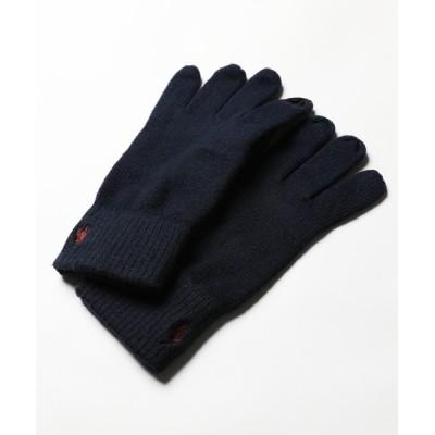 LIL VENDARS / POLO RALPH LAUREN コットンメリノ スマホ対応グローブ MEN ファッション雑貨 > 手袋