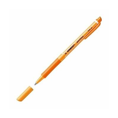 スタビロ 水性ボールペン ポイントビスコ 0.5mm オレンジ 2本 B1099-54