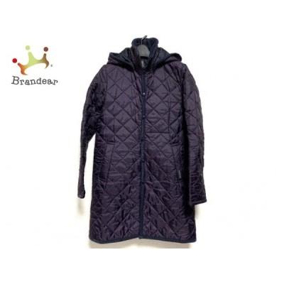 ラベンハム LAVENHAM コート サイズ36 S レディース 美品 パープル 冬物/キルティング          値下げ 20210630