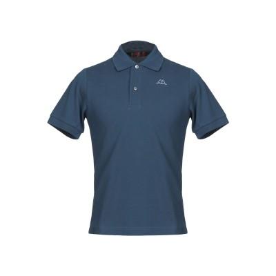ROBE DI KAPPA ポロシャツ ブルーグレー XS コットン 100% ポロシャツ