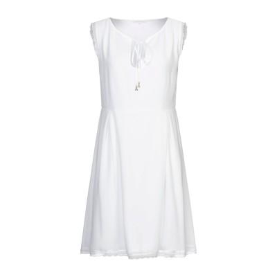 パトリツィア ペペ PATRIZIA PEPE ミニワンピース&ドレス ホワイト 46 ポリエステル 100% ミニワンピース&ドレス