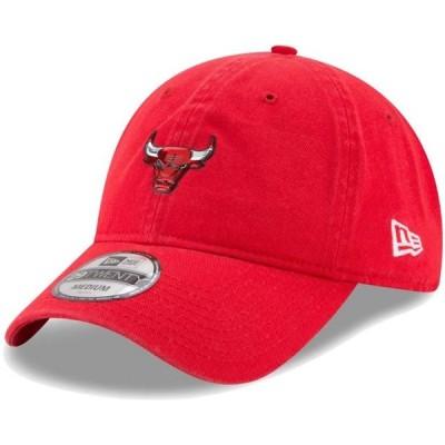 ユニセックス スポーツリーグ バスケットボール Chicago Bulls New Era On-Court 29TWENTY Fitted Hat - Black 帽子