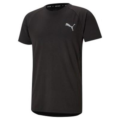 プーマ メンズスポーツウェア 半袖機能Tシャツ EVOSTRIPE Tシャツ 58890901 メンズ プーマ ブラック