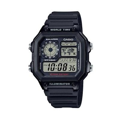 [カシオ]CASIO 腕時計 スタンダード 国内メーカー保証 日本語取扱説明書つき AE-1200WH-1AJF メンズ