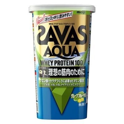 ザバス アクアホエイプロテイン100 グレープフルーツ風味 約14食分(294g)