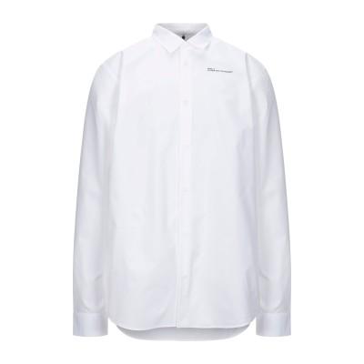 オーエーエムシー OAMC シャツ ホワイト XL コットン 100% シャツ