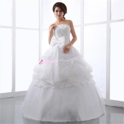 レス、結婚式、二次会ドレス、花嫁ドレス、パーティードレス★送料無料★送料無料  ブライズメイ