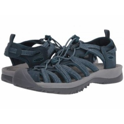 Keen キーン レディース 女性用 シューズ 靴 サンダル Whisper Smoke Blue【送料無料】